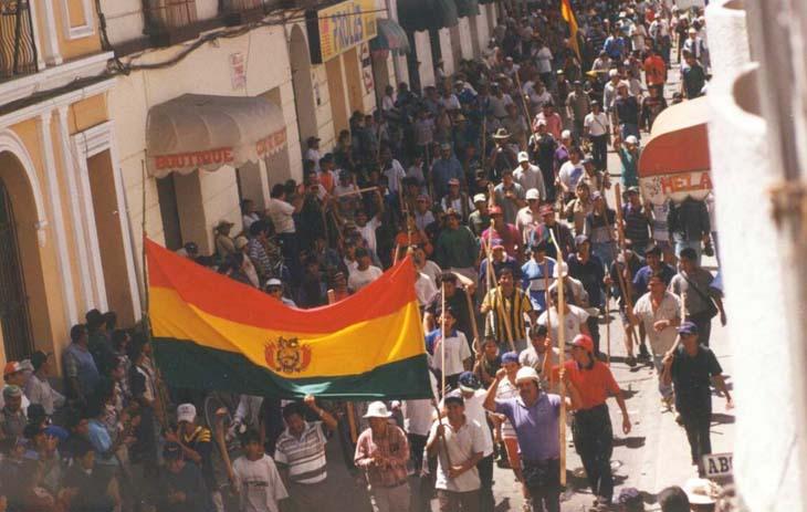 Water War of Bolivia
